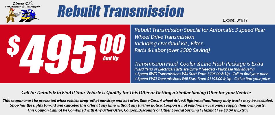 transmission flush coupons denver